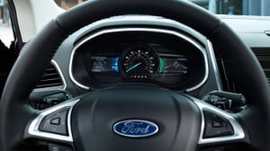 Special System Dashboard Lights In The  Ford Edge