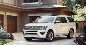 2018 Ford Expedition in Oxford White