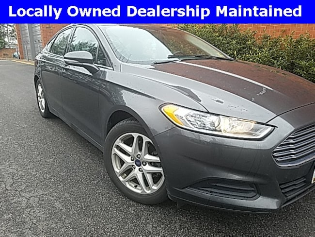used 2015 Ford Fusion SE Sedan for sale in Richmond VA