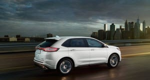 Ford Edge In White Platinum