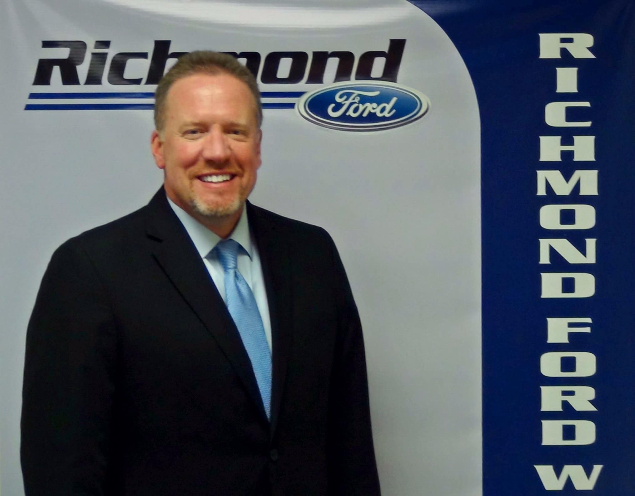 Richmond Ford West Richmond Ford West Welcomes Mark