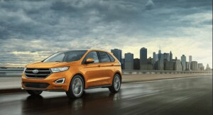 2016 Ford Edge in Electric Spice Metallic