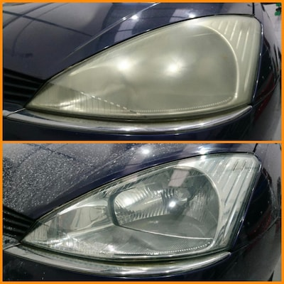 CAN'T SEE AT NIGHT? POLISH YOUR HEADLIGHT LENSES TODAY!