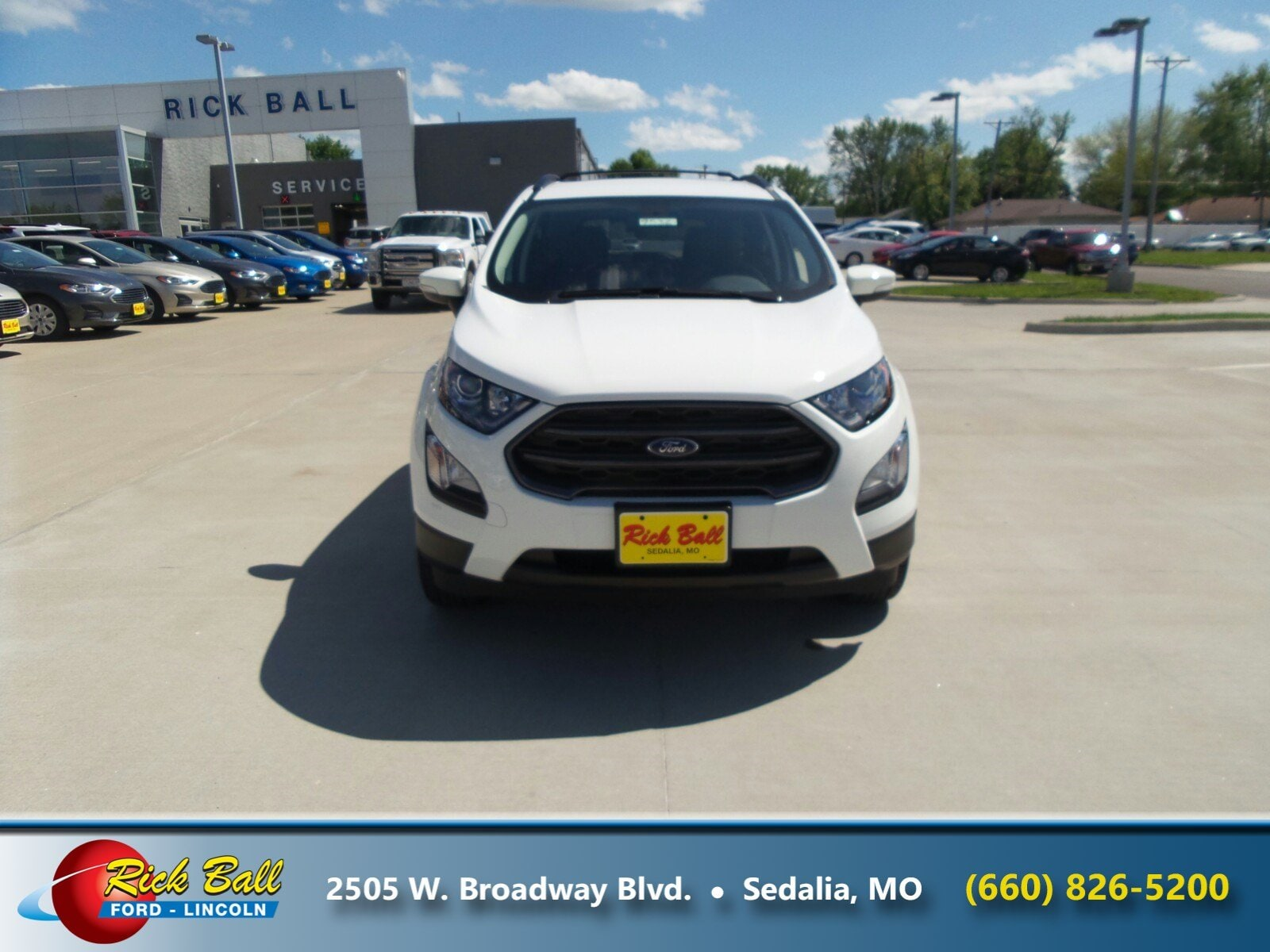 Used 2018 Ford EcoSport For Sale at Rick Ball Ford Lincoln