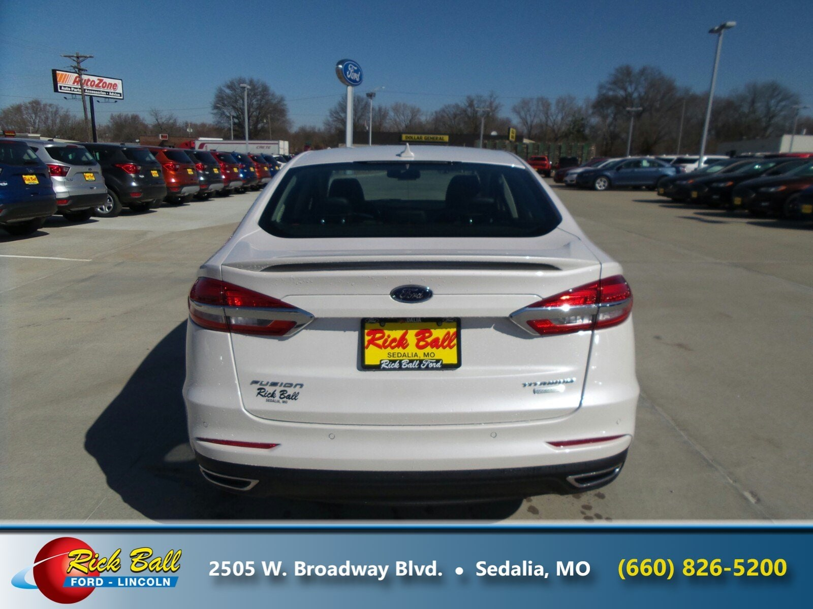 Rick Ball Ford >> New 2019 Ford Fusion For Sale At Rick Ball Ford Lincoln