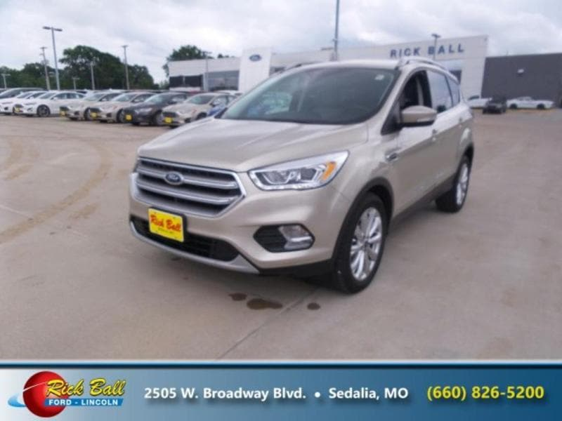 Used 2017 Ford Escape For Sale at Rick Ball Ford Lincoln
