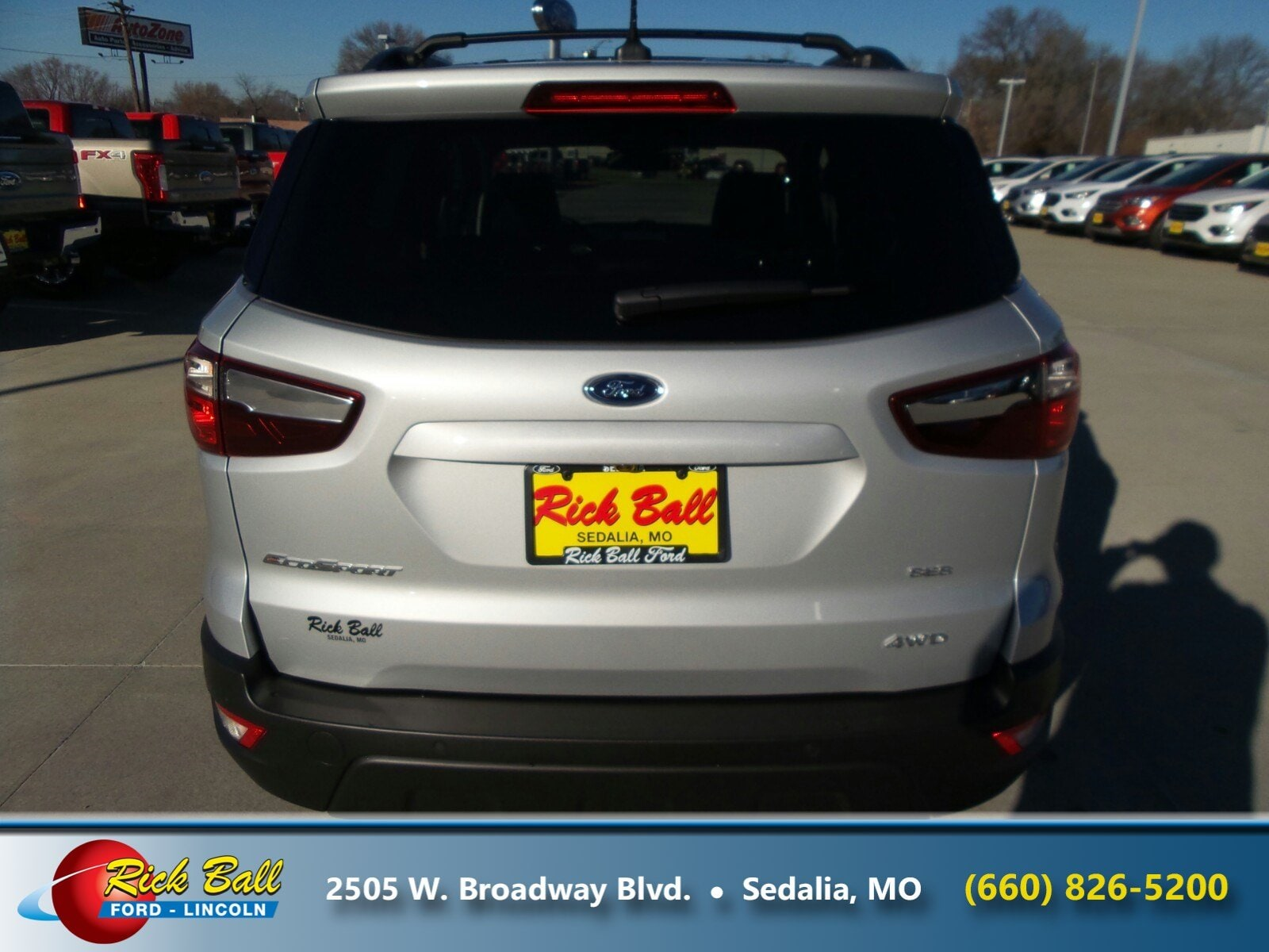 Rick Ball Ford >> Used 2018 Ford Ecosport For Sale At Rick Ball Ford Lincoln