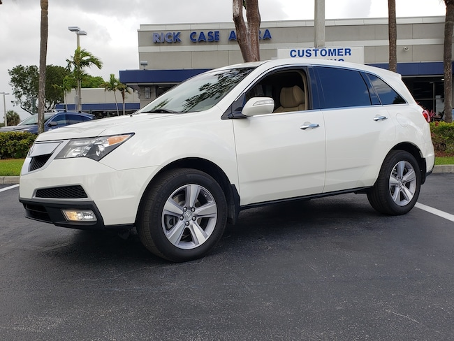 Used 2013 Acura MDX 3.7L Technology Pkg w/Entertainment Pkg (A6) SUV Fort Lauderdale