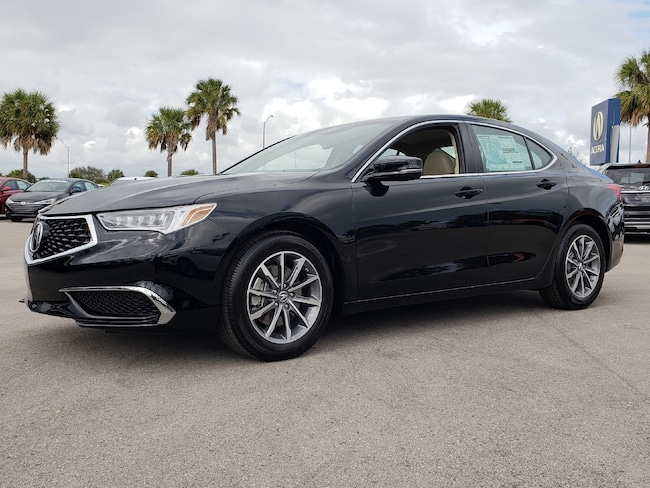 New 2019 Acura TLX 2.4 8-DCT P-AWS with Technology Package Sedan Fort Lauderdale