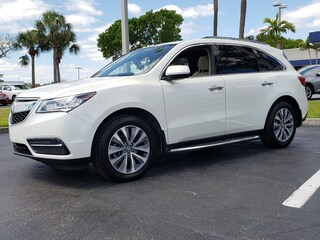 Certified Pre-Owned 2016 Acura MDX MDX SH-AWD with Technology SUV PAGB061688 Fort Lauderdale