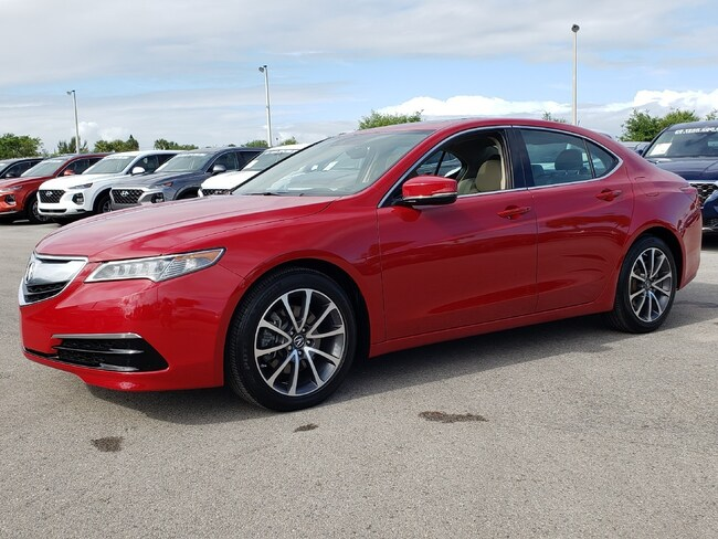 Certified Pre-Owned 2017 Acura TLX V6 with Technology Package Sedan Fort Lauderdale
