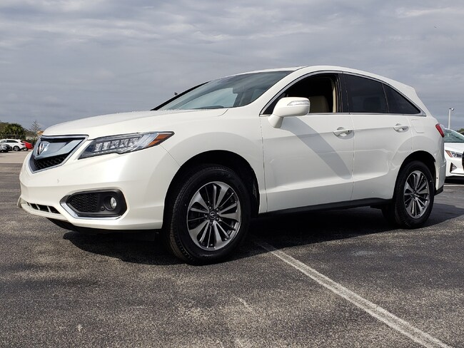 Certified Pre-Owned 2016 Acura RDX RDX with Advance Package SUV Fort Lauderdale