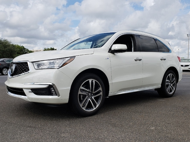 New 2019 Acura MDX Sport Hybrid SH-AWD with Advance Package SUV Fort Lauderdale