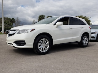 Certified Pre-Owned 2017 Acura RDX V6 SUV THL004068 Fort Lauderdale