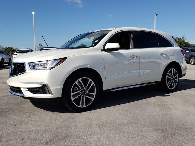 Certified Pre-Owned 2017 Acura MDX V6 SH-AWD with Advance Packages SUV Fort Lauderdale