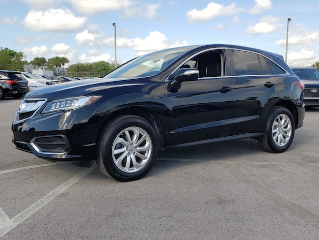 Certified Pre-Owned 2017 Acura RDX V6 AWD with Technology Package SUV Fort Lauderdale
