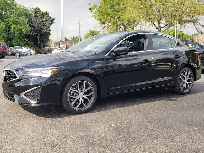 New 2019 Acura ILX with Premium Sedan Fort Lauderdale
