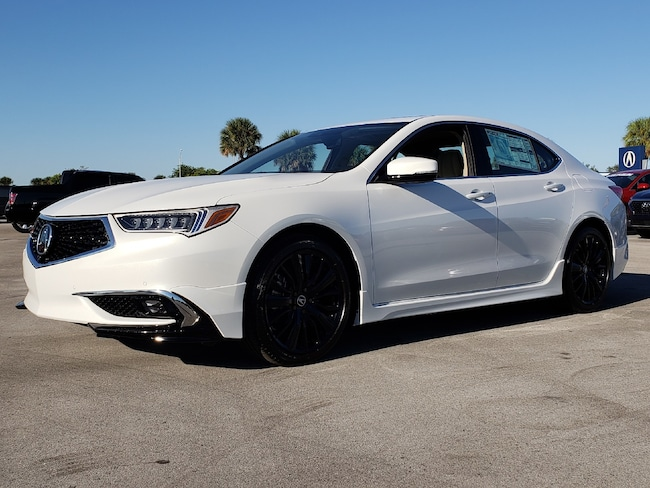New 2019 Acura TLX 3.5 V-6 9-AT SH-AWD with Advance Package Sedan Fort Lauderdale