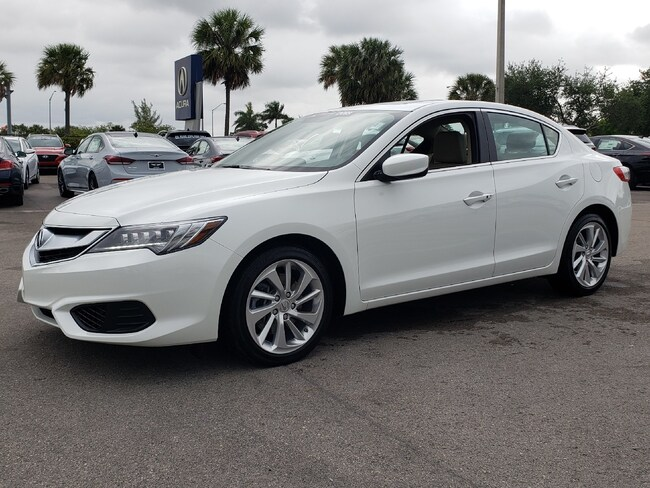 Certified Pre-Owned 2018 Acura ILX Sedan Fort Lauderdale