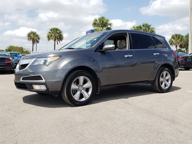 Used 2011 Acura MDX MDX With Technology Package SUV Fort Lauderdale