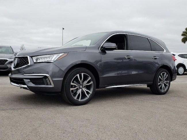 New 2019 Acura MDX with Advance Package SUV Fort Lauderdale
