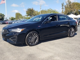 New 2019 Acura ILX with Technology and A-Spec Package Sedan 19UDE2F82KA004285 AKA004285 Ft. Lauderdale