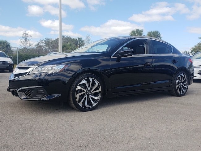 Certified Pre-Owned 2018 Acura ILX Special Edition Sedan Fort Lauderdale