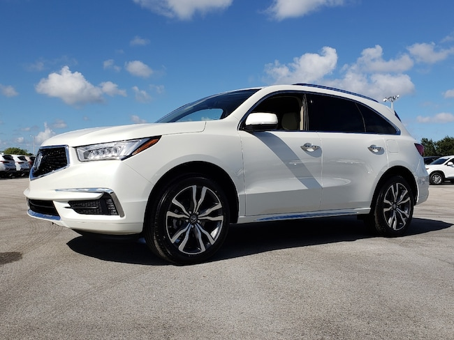 New 2019 Acura MDX SH-AWD with Advance Package SUV Fort Lauderdale