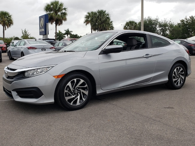 Used 2016 Honda Civic LX Coupe Fort Lauderdale