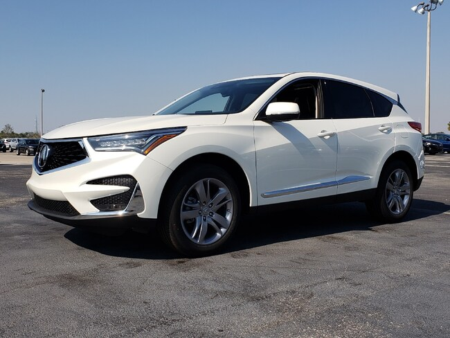 New 2019 Acura RDX with Advance Package SUV Fort Lauderdale