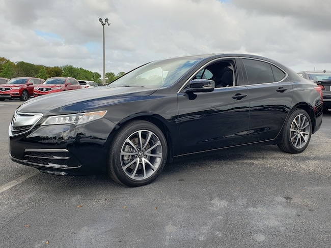 Used 2017 Acura TLX V6 with Technology Package Sedan Fort Lauderdale