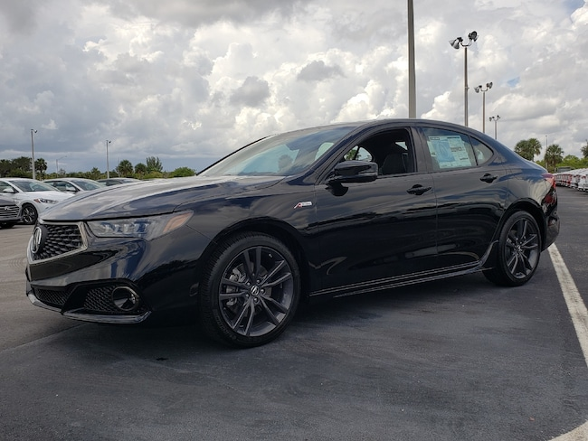 New 2019 Acura TLX 3.5 V-6 9-AT P-AWS with A-SPEC Sedan Fort Lauderdale