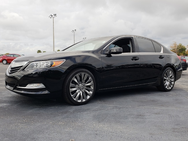 Certified Pre-Owned 2016 Acura RLX RLX with Technology Package Sedan Fort Lauderdale
