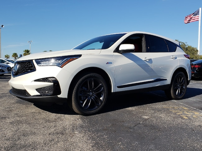 New 2019 Acura RDX with A-Spec Package SUV Fort Lauderdale