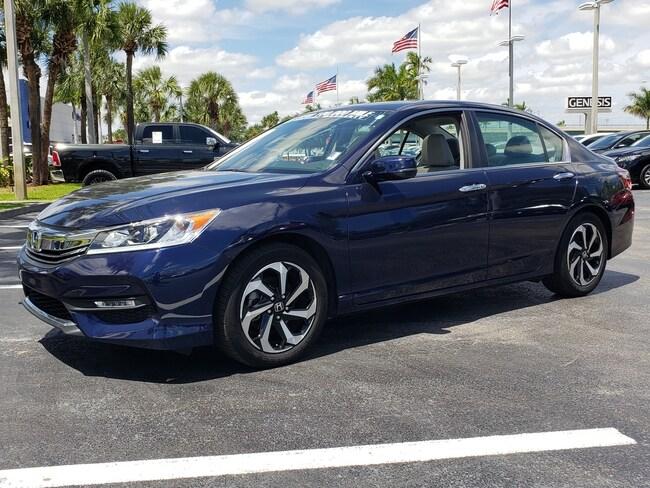 Used 2017 Honda Accord EX Sedan Fort Lauderdale