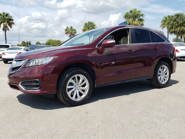 Used 2017 Acura RDX V6 with Technology Package SUV Fort Lauderdale