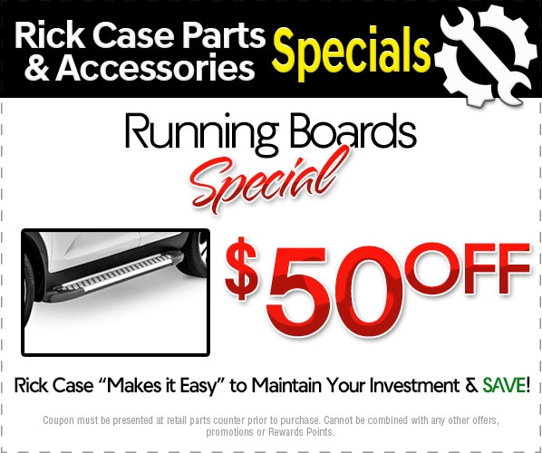 Parts Specials At Rick Case Acura New Acura Dealership In Fort - Discount acura parts