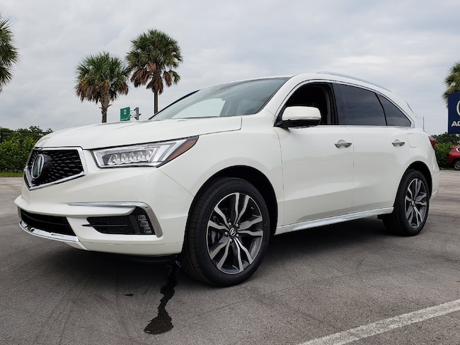 New 2019 Acura MDX with Advance and Entertainment Packages SUV Fort Lauderdale