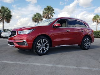 New 2019 Acura MDX with Advance Package SUV 5J8YD3H87KL002026 AKL002026 Ft. Lauderdale