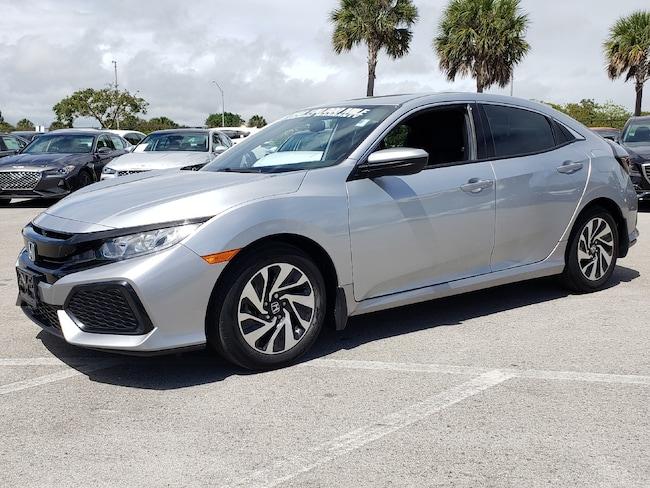 Used 2017 Honda Civic LX Hatchback Fort Lauderdale