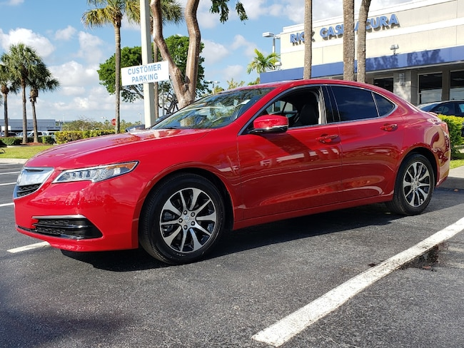 Certified Pre-Owned 2017 Acura TLX Base with Technology Package Sedan Fort Lauderdale