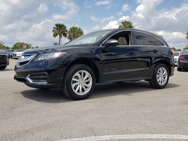 Certified Pre-Owned 2018 Acura RDX V6 with Technology Package SUV Fort Lauderdale