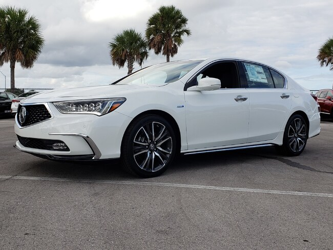 New 2019 Acura RLX Sport Hybrid SH-AWD with Advance Package Sedan Fort Lauderdale