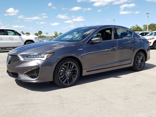 New 2019 Acura ILX with Technology and A-Spec Package Sedan Fort Lauderdale