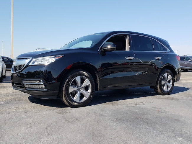 Certified Pre-Owned 2016 Acura MDX MDX SUV Fort Lauderdale