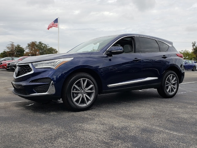 New 2019 Acura RDX with Technology Package SUV Fort Lauderdale
