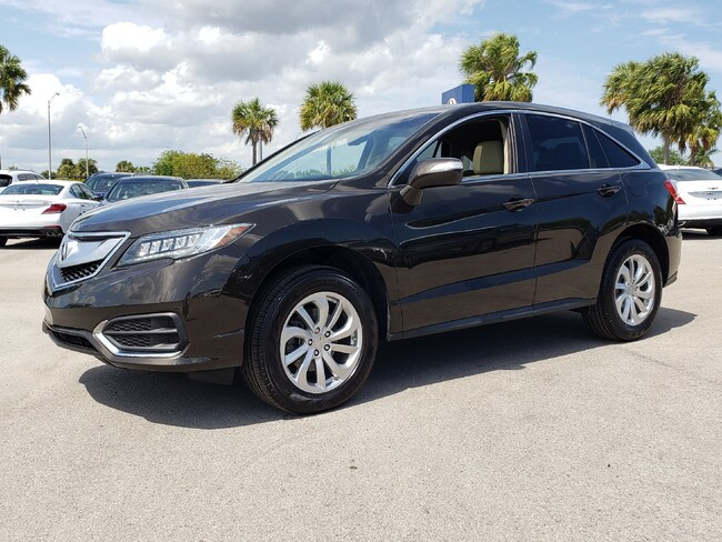 Certified Pre-Owned 2016 Acura RDX RDX SUV Fort Lauderdale