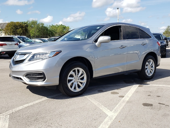 Certified Pre-Owned 2017 Acura RDX V6 with Technology Package SUV Fort Lauderdale