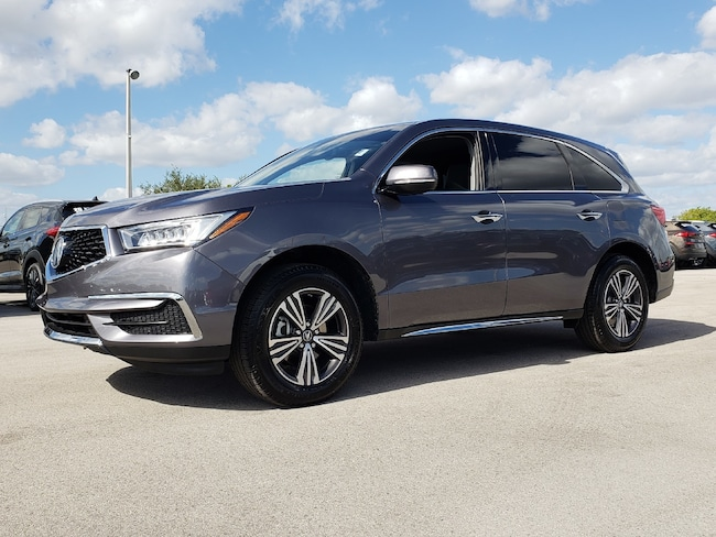 Certified Pre-Owned 2017 Acura MDX V6 SUV Fort Lauderdale