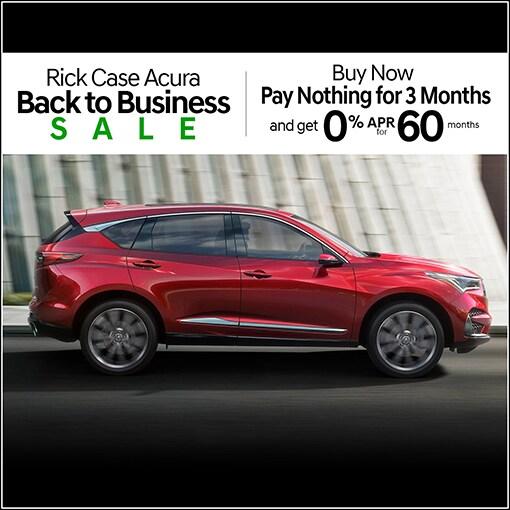 New Car Specials At Rick Case Acura